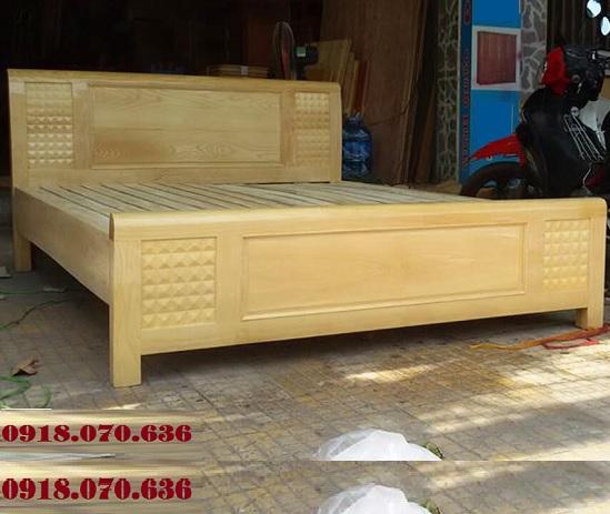 mua giường gỗ sồi 1m6