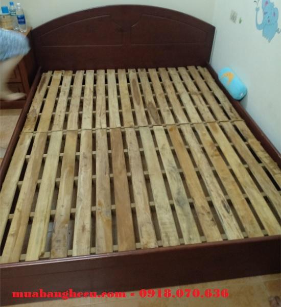 giường gỗ tự nhiên 1m6