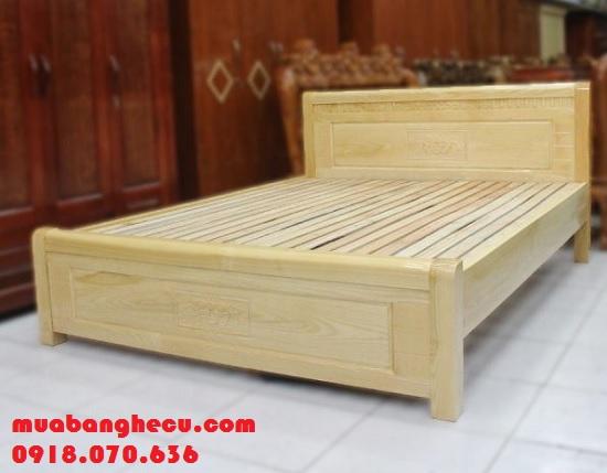 giường gỗ 1m8 giá rẻ
