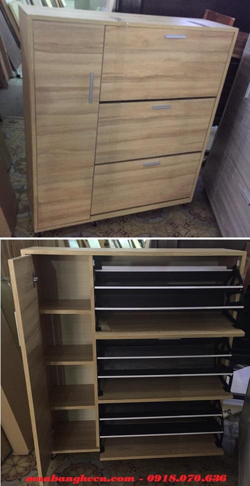 tủ đựng giày dép bằng gỗ tphcm