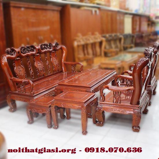 Bán bộ bàn ghế gỗ gụ