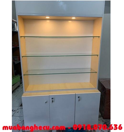 thanh lý tủ trưng bày mỹ phẩm tphcm
