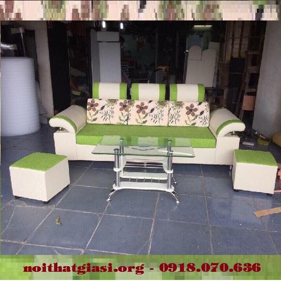 Thanh Lý Bộ Sofa Mini Gia Đình Cao Cấp Giá Rẻ -1