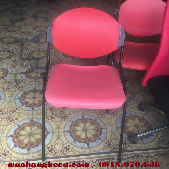 Thanh Lý Ghế Cafe Nhựa Chân Sắt Giá Rẻ -1