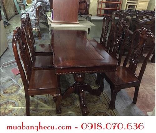 bàn ghế gỗ cũ giá rẻ tphcm