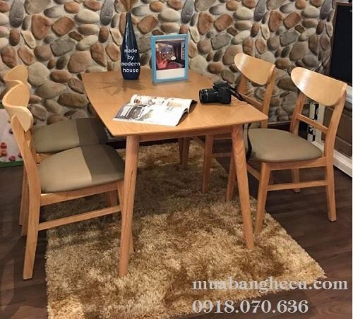 mua bán bộ bàn ghế gỗ cũ cho quán nhạu