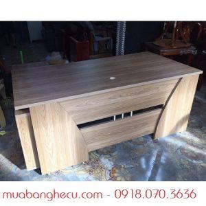 Bàn Giám Đốc Liền Tủ Cabin Tủ Mini -1