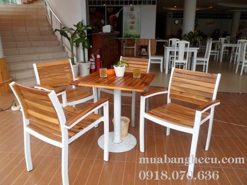 bán bàn ghế gỗ pallet giá rẻ