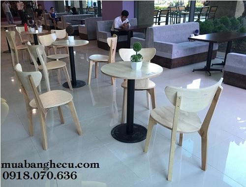 bộ bàn ghế trà sữa giá rẻ