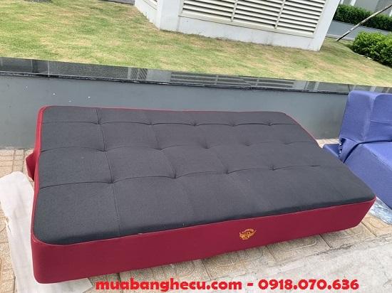 Thanh lý sofa Bed đỏ đen