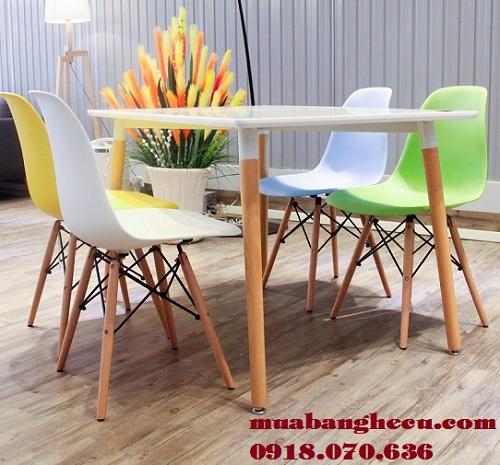những mẫu bàn ghế trà sữa đẹp