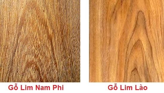 gỗ lim có mấy loại