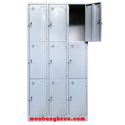 Thanh Lý Tủ Locker Sắt 9 Ngăn