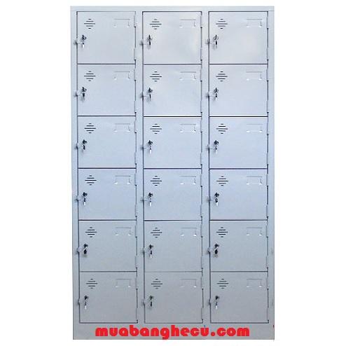 Tủ Locker Sắt 18 Ngăn Thanh Lý