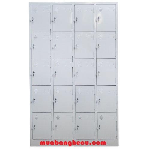 Thanh Lý Tủ locker Sắt 20 Ngăn
