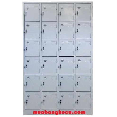 Tủ Locker Sắt 24 Ngăn