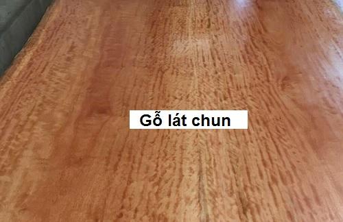 Gỗ lát chun
