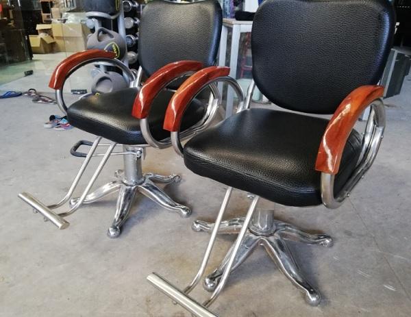 ghế cắt tóc cũ