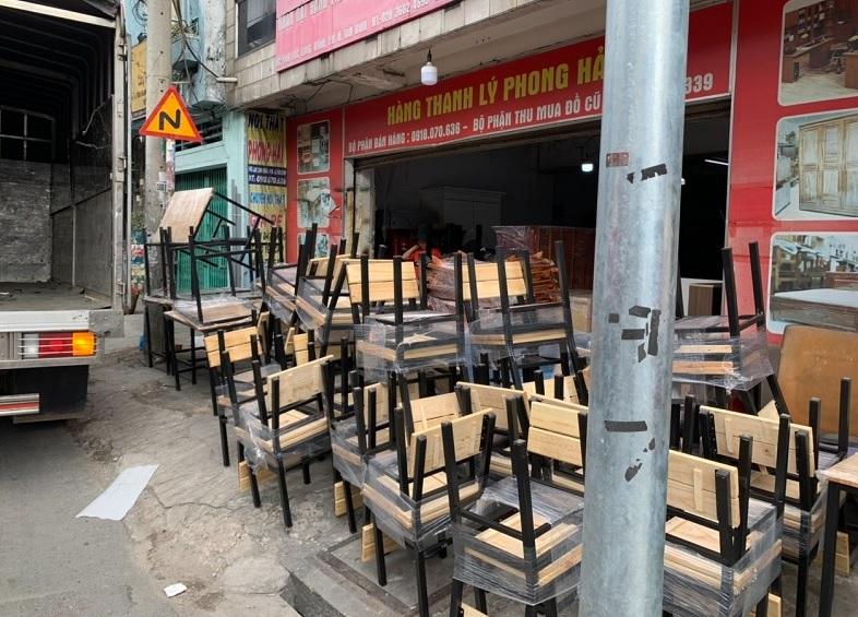 mua bàn ghế cũ tại Long An